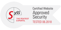 SySS Certified Website